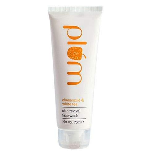 Plum Skin Revival Face Wash, Chamomile and White Tea, 75ml