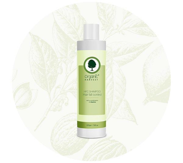 Organic Harvest Hair Fall Control Shampoo 225ml