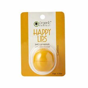 Organic Harvest Shea Butter Lip Balm, Yellow, 10 g