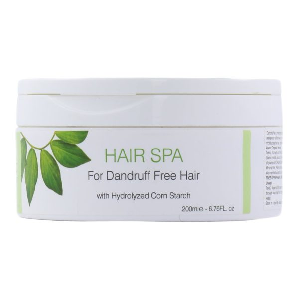 Organic Harvest Hair Spa for Dandruff Free Hair, 200ml