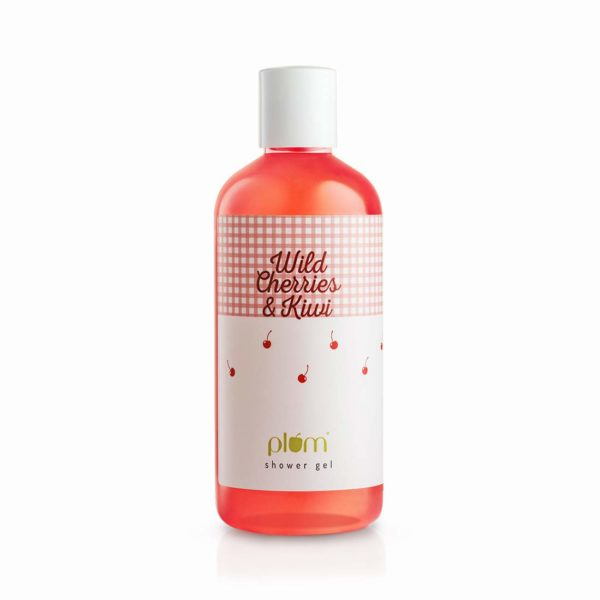 Plum Wild Cherries & Kiwi Shower Gel, 300 ml