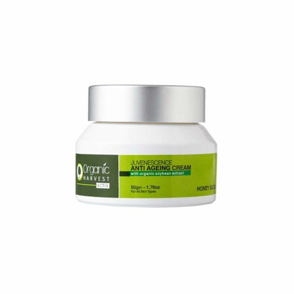 Organic Harvest Honey Suckle Range Activ Anti Ageing Cream, 50g