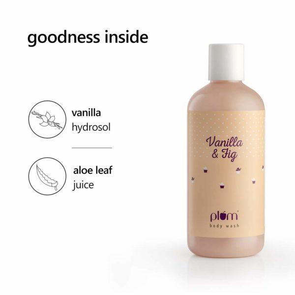 Plum Vanilla & Fig Body Wash, 300 ml