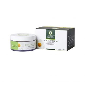 Organic Harvest Skin Lightening Massage Cream, 50g