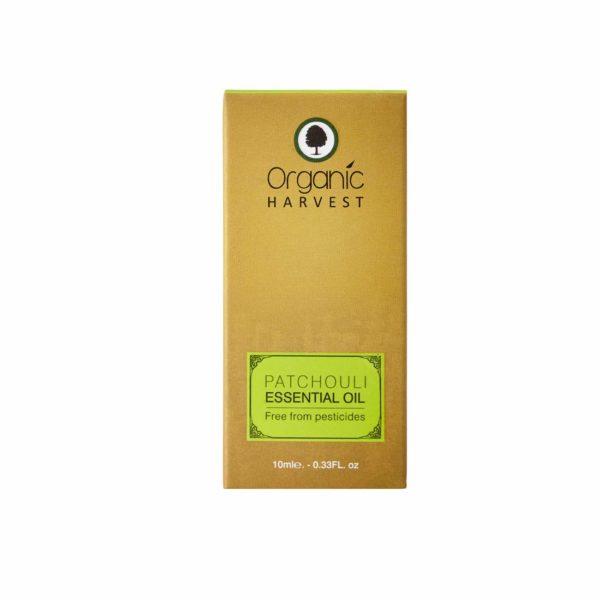 Organic Harvest Patchouli Pure Essential Oil, 10ml