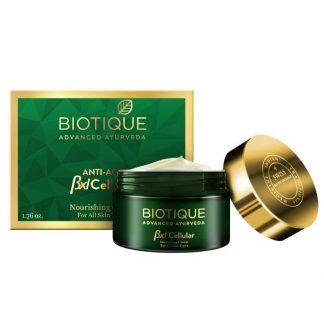 Biotique Bxl Cellular Saffron Nourishing Cream, 50g