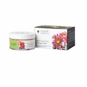 Organic Harvest Anti Ageing Massage Cream, 50g