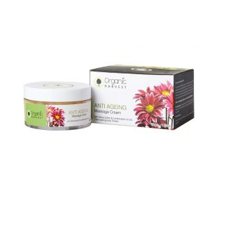 Organic Harvest Anti Ageing Massage Cream, 50g