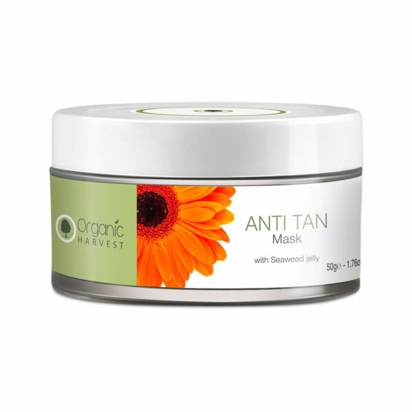 Organic Harvest Anti Tan Mask,50g