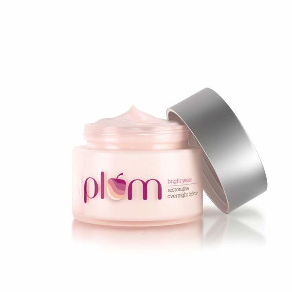 Plum Bright Years Restorative Overnight Creme, Pink, 50 ml