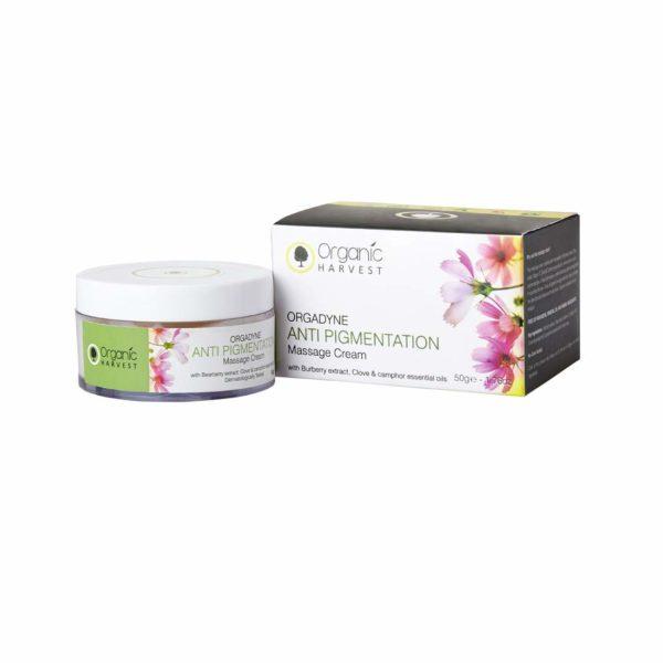 Organic Harvest Orgadyne Anti Pigmentation Massage Cream, 50g
