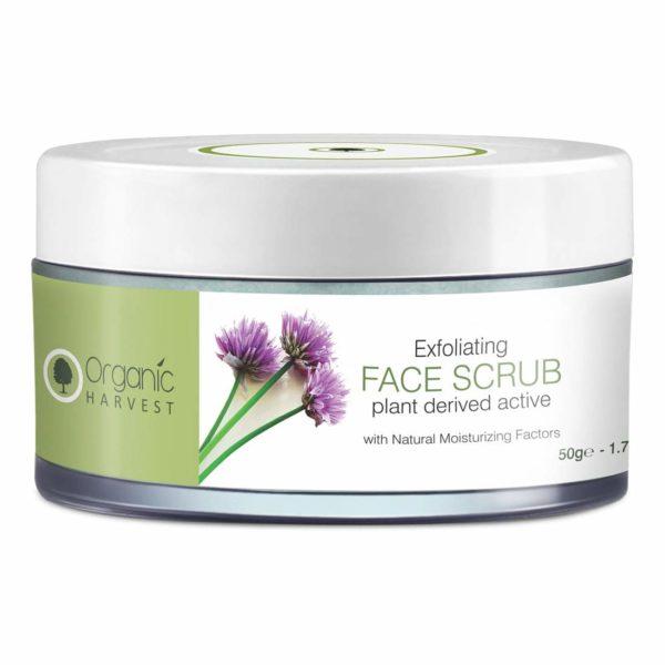 Organic Harvest Exfoliating Face Scrub