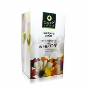 Anti Ageing Combo (Face Scrub - Exfoliating, Face Mask - Anti Wrinkle & Massage Cream - Anti Ageing)