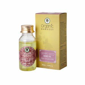 Organic Harvest Grape Seed Oil, 60ml