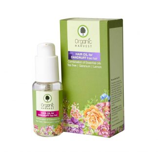 Organic Harvest dandruff free hair hair oil 60 ml