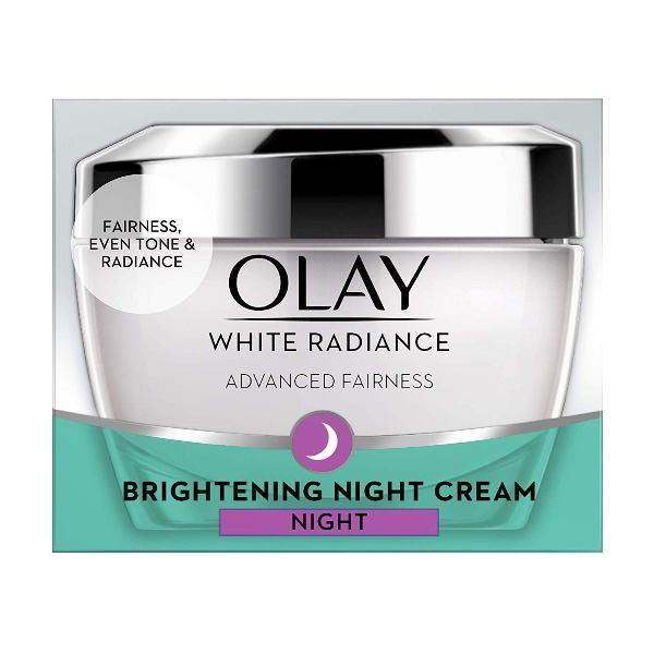 Olay White Radiance Advanced Whitening* Fairness Night Essence Skin Cream Moisturizer