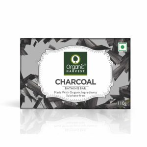 Organic Harvest Charcoal Bathing Bar, 110 g